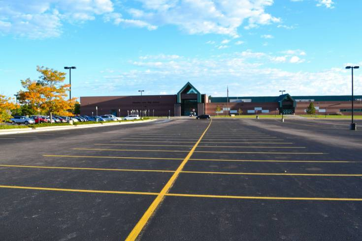 Standley Lake High School parking lot remains empty  Friday, Sept. 19. Teachers at Standley Lake and Conifer high school staged a sick-out, protesting a pay dispute and proposed curriculum changes. The sick-out forced the closure of both schools.
