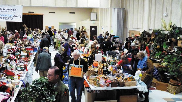The Action Center's bi-annual Beautiful Junk sale is being hosted at the Jeffco Fairgrounds on Oct. 17 and 18. The event raises more than $47,000 for the work of the Action Center.