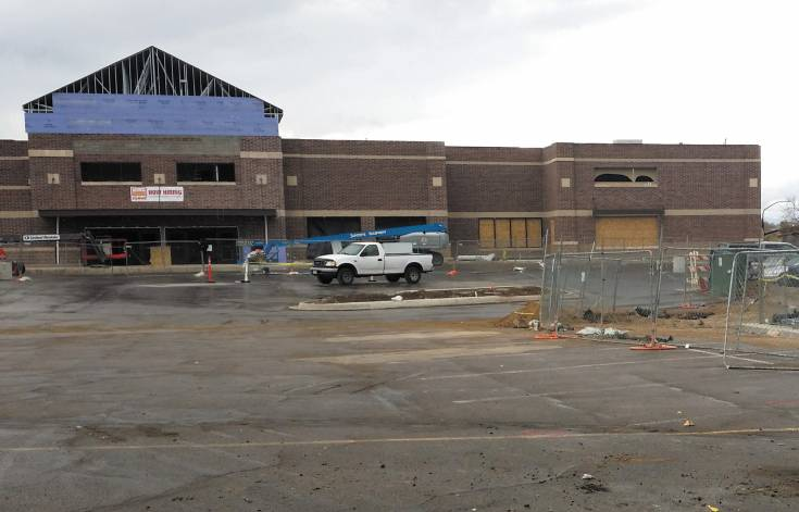 The new King Soopers, still under construction but now hiring, is in the Broadway urban-renewal zone despite the fact it's already in a tax-sharing agreement with the City of Littleton.