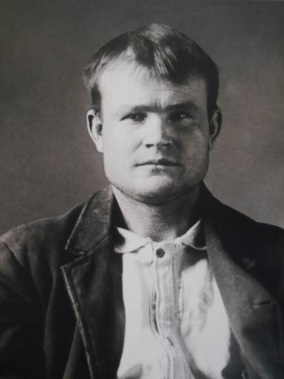 "George ""Butch"" Cassidy, Wyoming Territorial Prison."