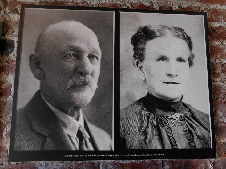 Anne and Max Parker, Robert Leroy Parker's (Butch's) parents.