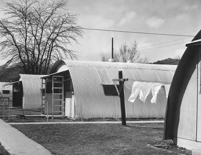 Vetsville quonset huts survived for years at Colorado schools.