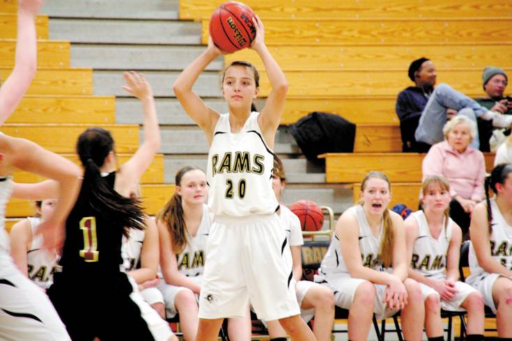 Last season Green Mountain frosh Danielle Lord was just one of multiple super-talented freshmen on the Rams' roster.