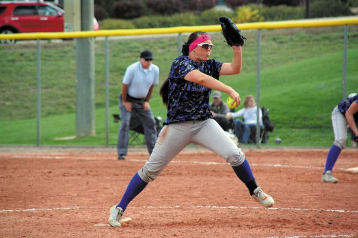Wheat Ridge junior Christiana Nelson is not only an elite pitcher (five victories and two shutouts) but she hit six home runs last season and had an impressive .372 average - all reasons she made the All-Colorado Community Media Team.