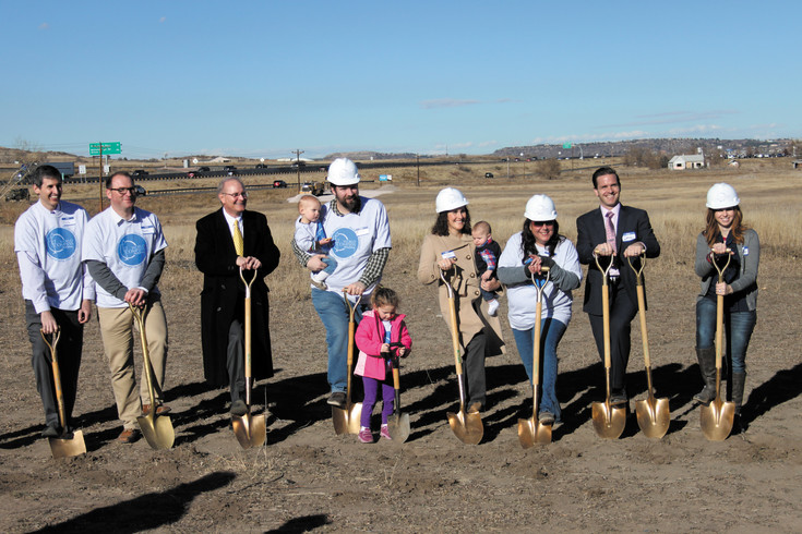 Douglas County's newest charter school, World Compass Academy, broke ground on the site of their new school building Dec.5 in Castle Rock. The school will be located on East Frontage Road next to Plum Creek Community Church.