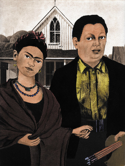 """Mexican Gothic"" by Denver artist Tony Ortega is included in the Arvada Center's Pop Art exhibit. Courtesy photo"