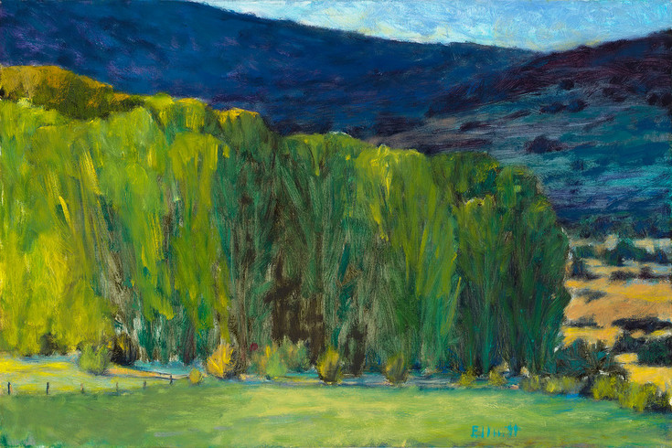"This landscape by painter Ken Elliott of Castle Rock is included in a show of his work, ""A Survey of Paintings by American Landscape Artist Ken Elliott"" at the PACE Center in Parker on Jan. 16 through March 6. Courtesy photo"