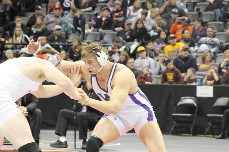 Poudres Jacob Greenwood tees up a wrestling legacy and