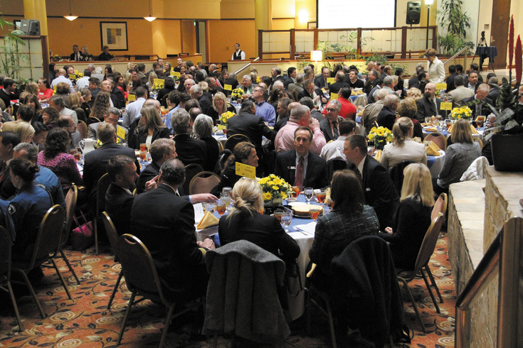 Hundreds of people attended Centennial's 11th annual State of City address, a luncheon event which took place April 16 at the Embassy Suites in Centennial. Christy Steadman