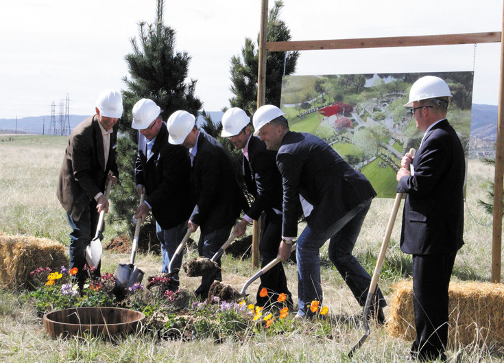 Seven Stones cemetery hosted a ground breaking ceremony on April 23 on the 35 acres of property where the cemetery will be located, which is on North Rampart Range Road, just south of Chatfield Reservoir. The cemetery will be the first to come to Douglas County since the Cedar Hill Cemetery in Castle Rock broke ground in 1875.