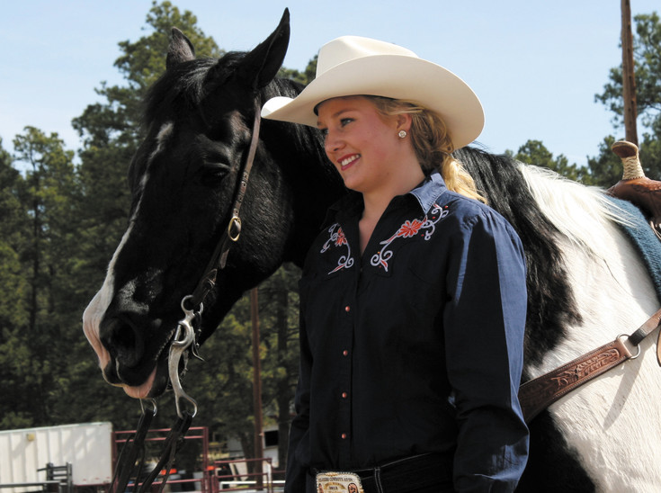 Kelly Sweigart, an Elizabeth High School junior, was named the 2016 Elizabeth Stampede Rodeo queen May 2.