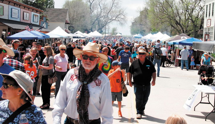 Thousands of people flocked to Elizabeth's Main Street for ElizaBash on June 6. The annual festival follows the Elizabeth Stampede Parade and features vendors, music, activities for kids and more. It is put on by the Elizabeth Area Chamber of Commerce.