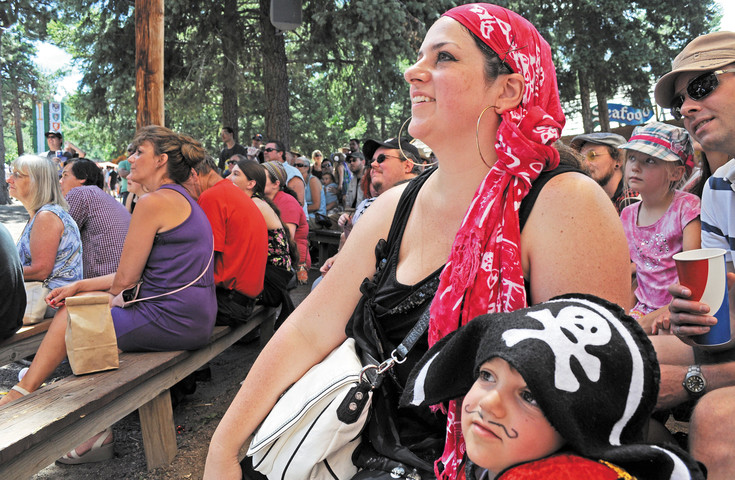 Crowds enjoyed a fire-juggling performance from The Kamikaze Fireflies at the Renaissance Festival in Larkspur.