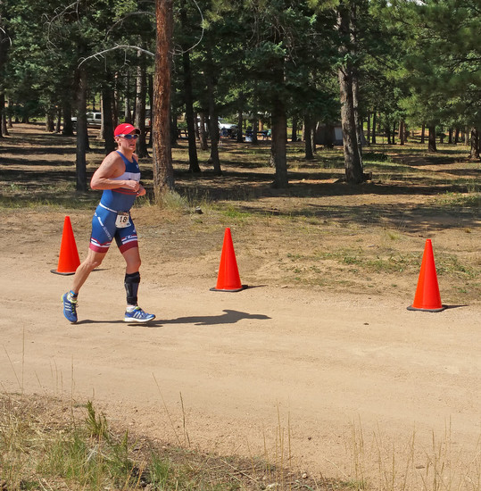 Highland Ranch resident and National Guard veteran Craig Vogtsberger qualified for XTERRA USA Championship on Aug. 24 to compete nationally for his fith year, despite his footdrop. The award-winning paratriathlete uses an Allard BlueROCKER to combat his lower-leg paralysis. Courtesy photo