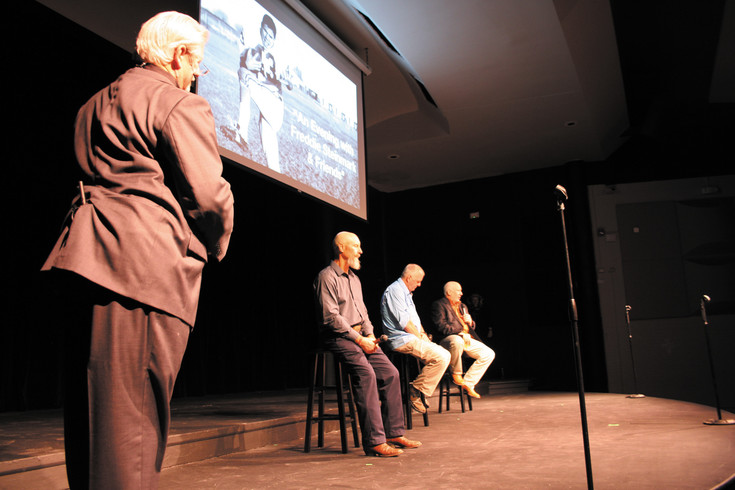 Author Bower Yousse speaks to former teammates Kent Cluck, David Dirks and Rick Nabors about the influence Freddie Steinmark had on them.
