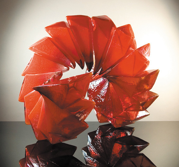"Richard Royal's ""Red Zeal"" is an example of the detail and complexity that blown glass artists are capable of. Royal has worked with Dale Chihuly many times in his career."