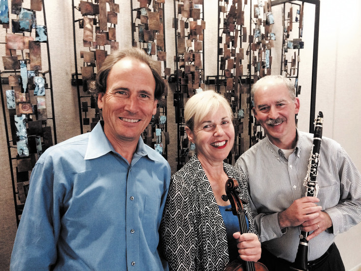 A CU Boulder Faculty trio will perform on Oct. 30 at Littleton United Methodist Church. Pianist David Korevaar, Violist Geraldine Walther and clarinetist Daniel Silver will play trios and a sonata. Courtesy photo