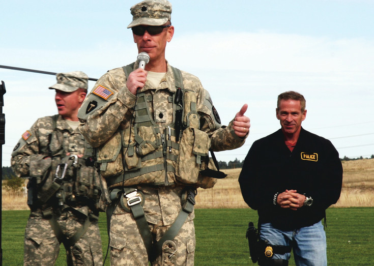 Lt. Col. Robert Soper, Army commander of the Colorado Joint Counterdrug Task Force.