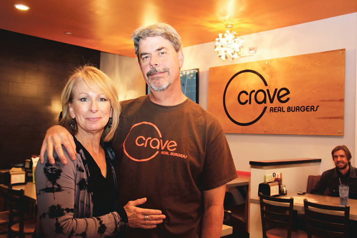 Jeryn and Jeff Richards opened the fourth Crave Real Burgers in LoDo earlier this month.