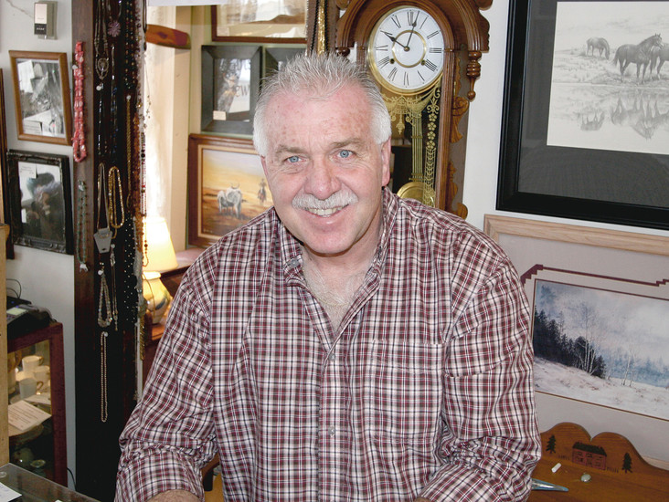 Randy Wallace, the owner of Randy's Antiques and Art on Old Town Main Street in Elizabeth, said that he has no specific resolutions for 2016. Randy loves his art and antiques, and his hope for the future is to see Main Street in Elizabeth succeed.