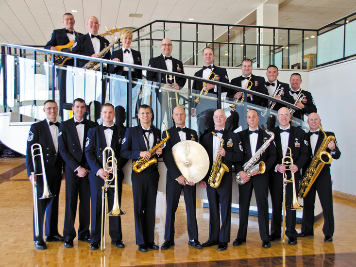 The USAF Falconaires will perform a free big band jazz concert at 7 p.m. on Feb. 5 at Littleton United Methodist Church. The band will play traditional, contemporary and original works. Courtesy photo