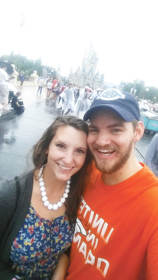 This June, I'm going to marry the love of my life, Gina, and I can't wait. Here we got a little wet while living in Flordia last year, but getting to visit Disney whenever we wanted was totally worth it. Courtesy photo