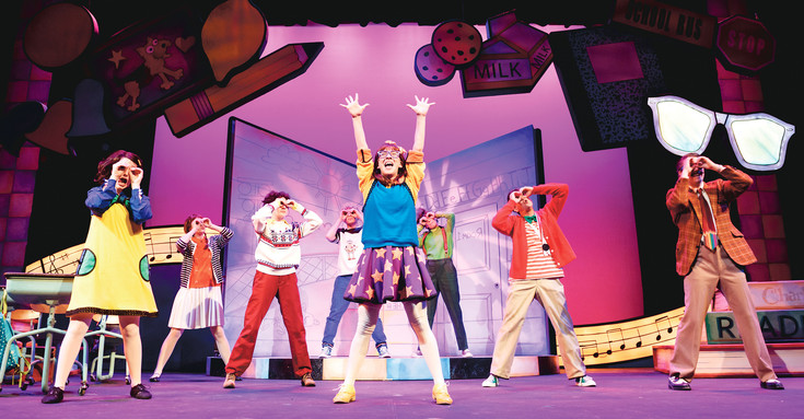 "The cast of the Arvada Center's ""Junie B. Jones, the Musical"" bring the magical world of Junie B. Jones to life for children."
