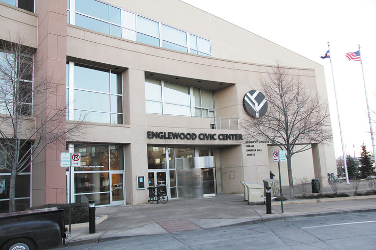 The Englewood Civic Center at 1000 Englewood Parkway, where the Englewood City Council and the city's government offices operate.