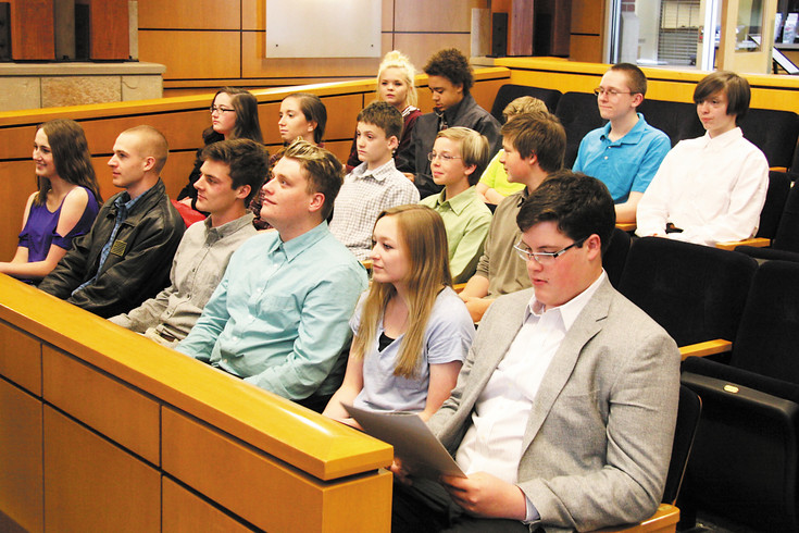 Student, volunteer juries at Parker's Teen Court hear cases and pass sentences on peers. Lone Tree's Teen court will be modeled in part on the program developed in Parker in 2005.