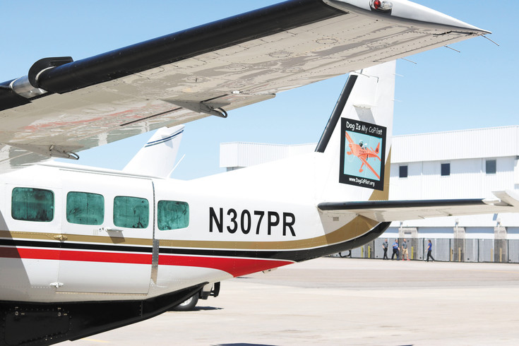 Dog is My CoPilot, a nonprofit organization based in Jackson Hole, Wyoming, transports more than 75 dogs and cats to Centennial Airport in one of its largest rescues in history on May 4.