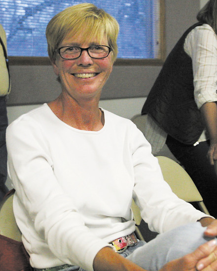 Republican Laurie Duke was glad to see the two democrat candidates included in the debate.