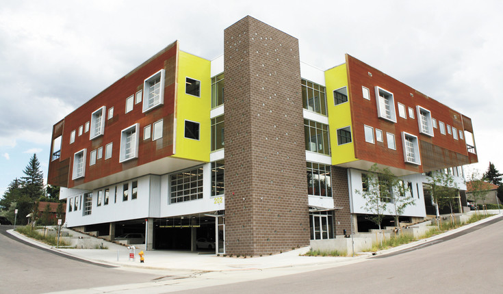 The Move office space brings modern architecture to Castle Rock's historic downtown.