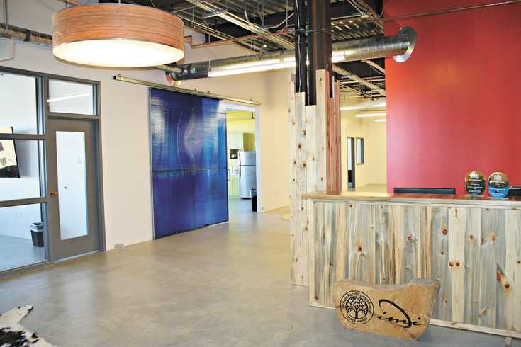 The Move has room for approximately four more businesses to lease office space.