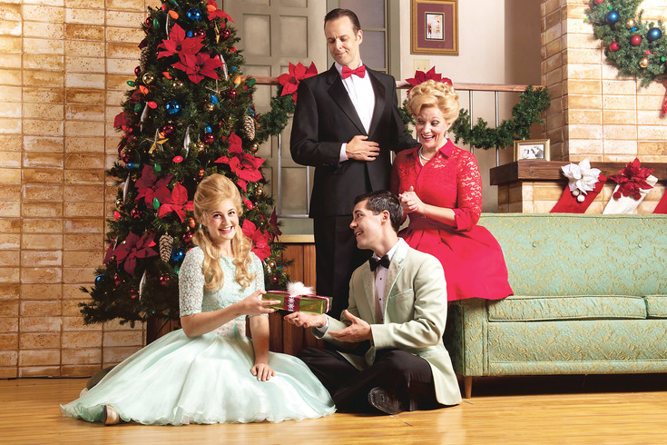 "The cast of ""I'll Be Home For Christmas"" made its world premiere at the Arvada Center on Nov. 18."