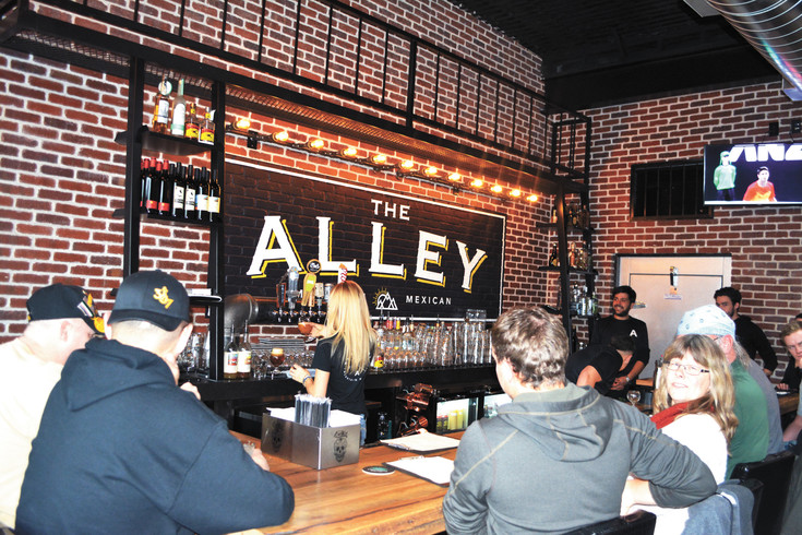"The Alley opened on Dec. 16 in the space formerly occupied by Jose's Restaurant. It features local beer and ""mountain Mexican"" food."