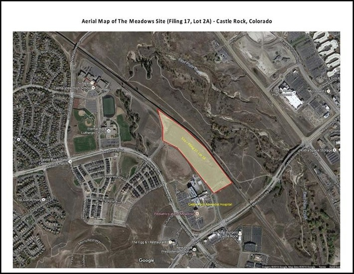 Arapahoe Community College a will build a $40 million campus on a 14-acre site in The Meadows area of Castle Rock.