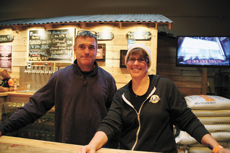 Husband and wife team Ryan Parker and Tori Miller opened Someplace Else Brewery in Arvada Sept. 22.