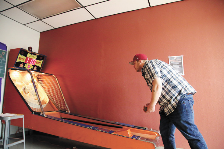 Colin McCollor, 28, wanted to start the Skee Ball league because it reminds him of his youth.