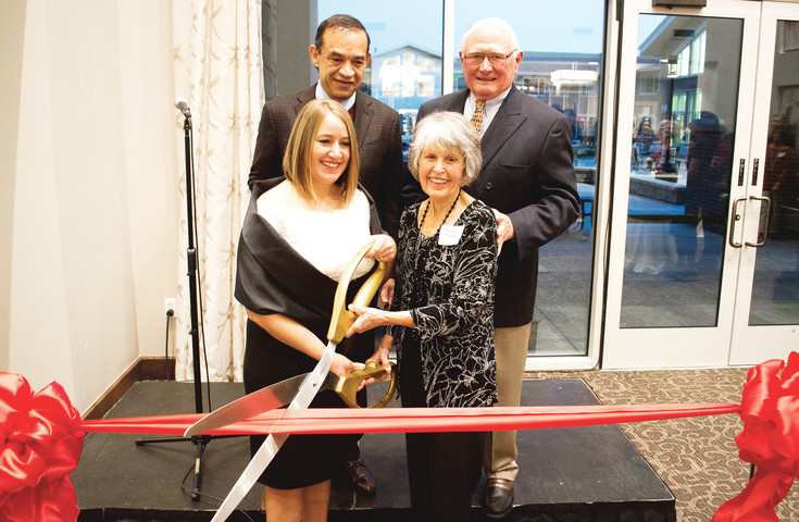 A ribbon cutting, representing the opening of the new MorningStar Senior Living at RidgeGate, took place on Jan. 11. Over 200 attendees witnessed teh event.