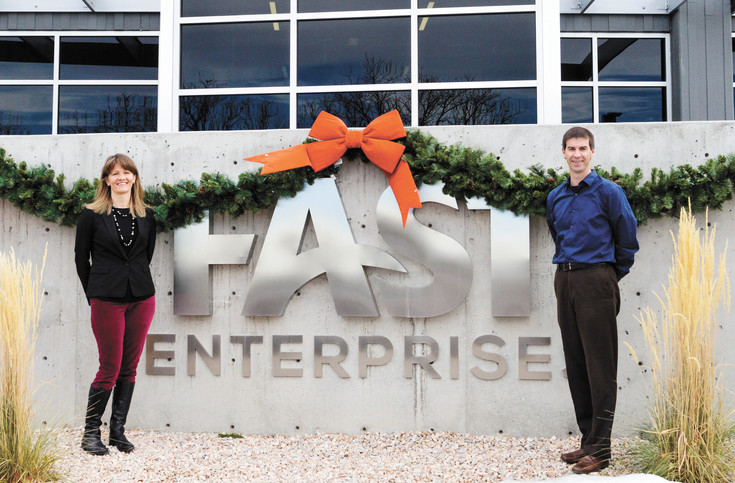 At Fast Enterprises, founding partner Jennifer Tuvell and associate partner Dan DeKeyrel help run a company that is ranked among the best plaes to work in the country.