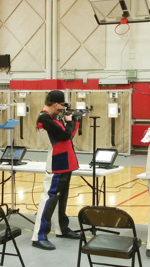 Luke Sigmon practices shooting several times a week and has been selected as a 4-H Shooting Sports Ambassador for Colorado.