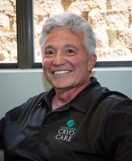 Dr. Michael DeSimone left a dentistry career following a wrist injury and opened Castle Rock Cryo Care at 751 Maleta Lane in Castle Rock.