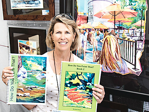 Janet Nunn is a watercolor artist who lives on Lookout Mountain. Nunn has been teaching at the Foothills Art Center for about 15 years. Last year, she won Best of Colorado at the Golden Fine Arts Festival and will return to the festival again this year.