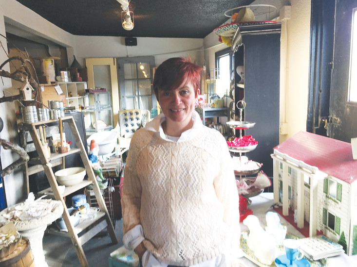 Amy Kozdron is a Littleton native and the owner of The Pink Attic Cat vintage store.