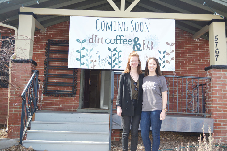 Lauren Jennings, right, director of operations of Dirt Coffee, and co-founder Lauren Burgess will bring their coffee to a fixed location in downtown Littleton this summer.