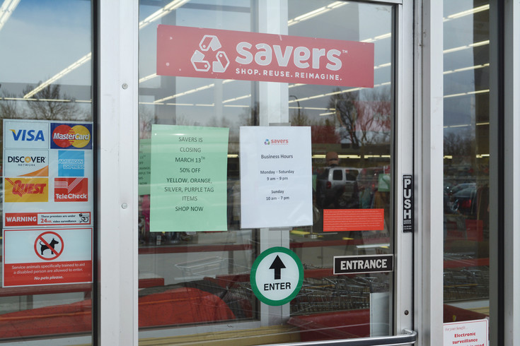 Savers thrift stores in Littleton and Highlands Ranch will close next week. In the meantime, the store is offering sales on its remaining inventory.
