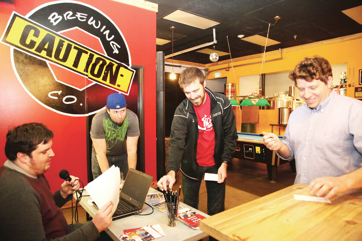 Caution Brewing in Lakewood hosts Geeks Who Drink quiz night every Tuesday.