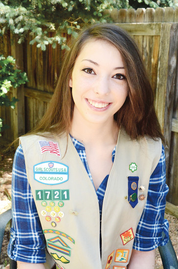 Emma Albertoni earned her Girl Scout Gold Award and the Prudential Spirit of Community Award.