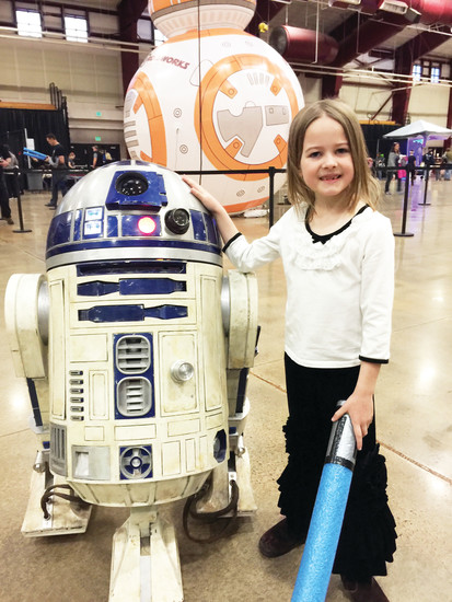 A Star Wars event hosted by The Rock church in Castle Rock drew a crowd of 2,000 people, church officials said.