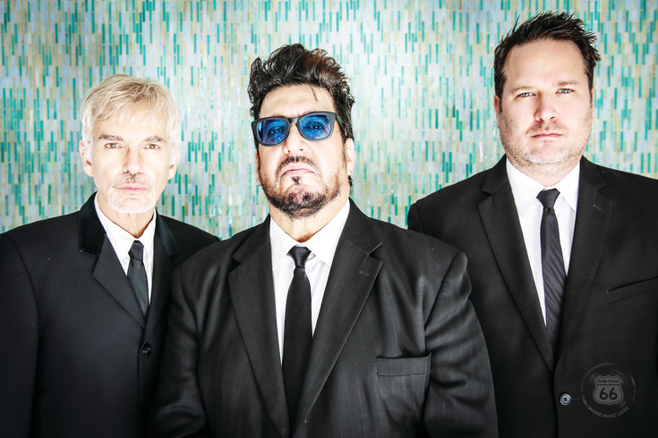 "The Boxmasters, feturing Billy Bob Thornton, left, Teddy Andreadis and J.D. Andrew will play the PACE Center on April 12 at 7:30 p.m. The band's music, described as ""modbilly,"" recalls American pop and British Invasion bands of the 1960s."